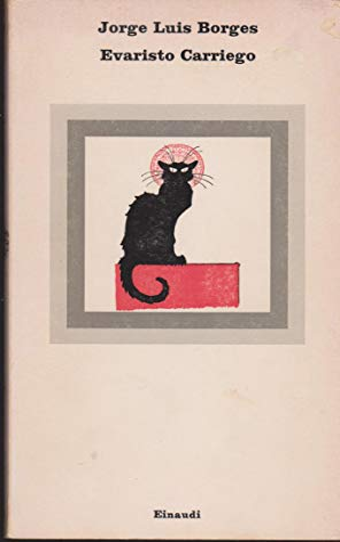 ART 8.879 LIBRO EVARISTO CARRIEGO DI JORGE LUIS BORGES 1972