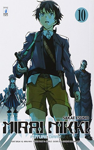 Mirai Nikki. Future diary (Vol. 10)