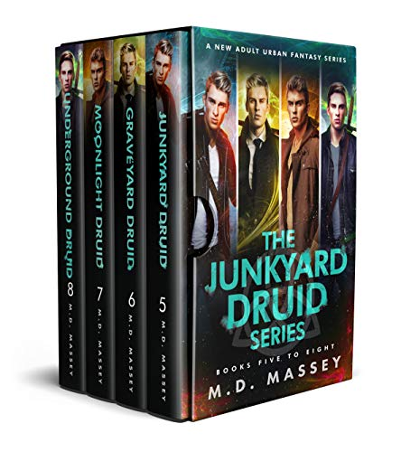 Junkyard Druid Books 5-8: An Urban Fantasy Box Set (Junkyard Druid Urban Fantasy Box Sets Book 2) (English Edition)