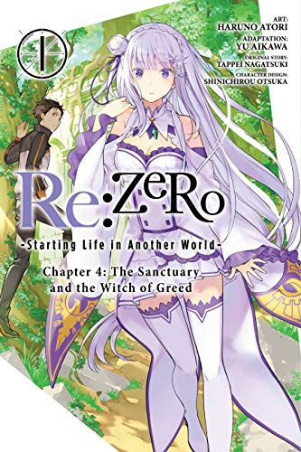 Re Zero Starting Life in Another World 1: The Sanctuary and the Witch of Greed