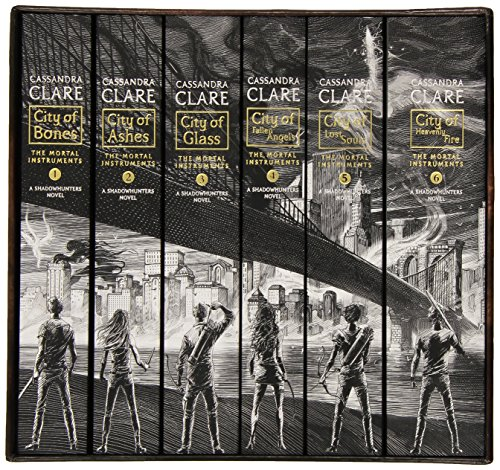 The Mortal Instruments: The Complete Collection: City of Bones / City of Ashes / City of Glass / City of Fallen Angels / City of Lost Souls / City of Heavenly Fire